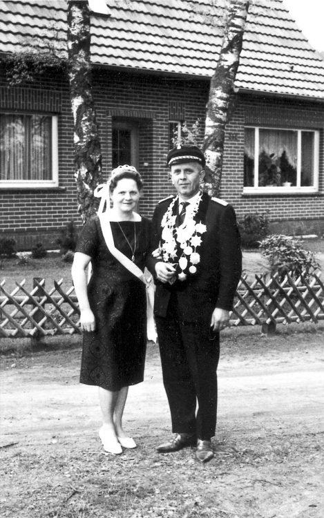 Die Gründer Willi und Martha Kipp im Jahre 1960